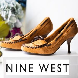 Nine West Pump Suede